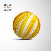 Abstract Vector Sphere — Stock Vector