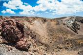 Cratere di vulcano — Foto Stock