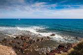 Beautiful view of the seacoast — Stock Photo
