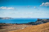 Yunan Adaları Deniz Manzaralı — Stok fotoğraf