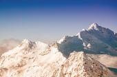 Winter bergen — Stockfoto