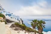 White architecture on Santorini island, Greece — Stock Photo