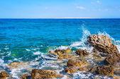 Rocky beach on the Red sea. — Stockfoto