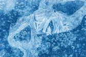 Macro image of ice — Stock Photo