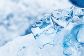 Doğal blue Ice — Stok fotoğraf