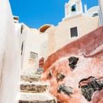 Beautiful architecture in Oia town, Santorini island, Greece. — Stock Photo #78426382