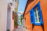 Beautiful street in Athens, Greece — Stock Photo
