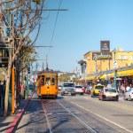 ������, ������: Old tram in San Francisco
