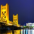 Golden Gates bridge, Sacramento — Stockfoto #51975623