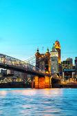Cincinnati downtown — Stock Photo