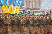 Ukrainian Border guard troopers — Stock Photo