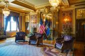 Utah state reception room — Stock Photo