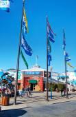 Pier 39 op de haven van san francisco — Stockfoto
