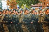 Ukrainian Airborne troopers — Stock Photo