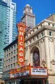 Chicago theather — Stockfoto