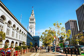 Ferry building, San Francisco — Stockfoto