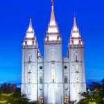 Mormons Temple — Stock Photo #58789267