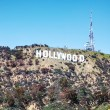 Hollywood sign located on Mount Lee — Stock Photo #58789997