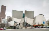 The Walt Disney Concert Hall in Los Angeles, CA — Stock Photo