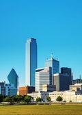 Dallas cityscape — Stock Photo