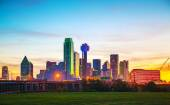 Overview of downtown Dallas — Stock Photo