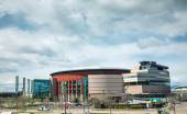 Pepsi Center in Denver — Stock Photo