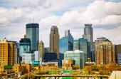 Downtown Minneapolis — Stockfoto