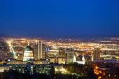 Salt Lake City overview — Stock Photo