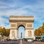 Arc de Triomphe de l'Etoile in Paris — Stock Photo #61616679
