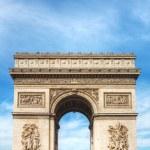 Arc de Triomphe de l'Etoile in Paris — Stock Photo #61616925