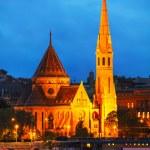 The Inner City Calvinist Church of Budapest — Stock Photo #61617059