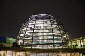 Reichstag dome in Berlin, Germany — Stock Photo