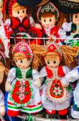 Traditional magyar doll — Stock Photo