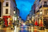 Rue du Midi a Bruxelles — Foto Stock