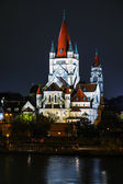 St. Francis of Assisi Church in Vienna, Austria — Stock Photo