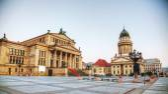 Gendarmenmarkt square with Concert hall in Berlin — Stock Photo