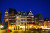 Old town in Frankfurt am Maine — Stock Photo