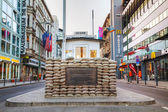 Checkpoint Charlie in Berlin, Germany — Stock Photo