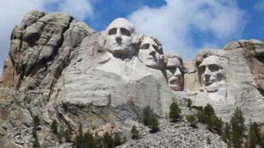Mount Rushmore National Memorial — Stock Video