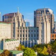 Mormons Temple in Salt Lake City — Stock Photo #69738983