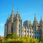 Mormons Temple in Salt Lake City — Stock Photo #69742507