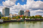 Downtown Portland cityscape — Stock Photo