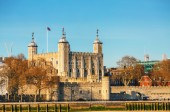 Věž pevnosti v londýně — Stock fotografie