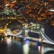 London city with the Tower bridge — Stock Photo #72604707