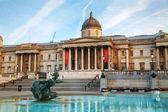 National Gallery building at Trafalgar square — Stock fotografie