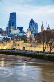 Financial district of the City of London — Стоковое фото