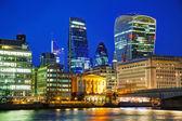 Финансовый район города Лондона — Стоковое фото