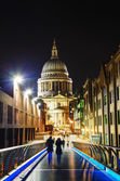 Saint Pauls cathedral in London — Foto de Stock