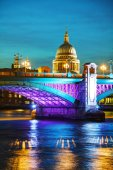 Saint Pauls cathedral in London — Stock Photo