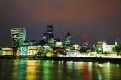 Finanční čtvrti Londýna — Stock fotografie
